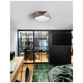 Nova Luce DARIUS mennyezeti lámpa, bronz, E27 foglalattal, max. 4x10W, 8186205