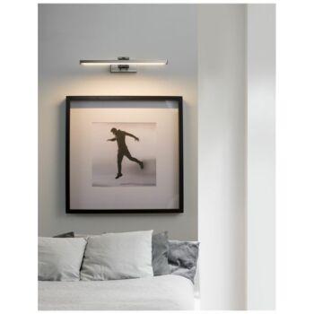 Nova Luce MARNELL fali lámpa, króm, 3000K melegfehér, beépített LED, 12W, 801 lm, 9117302