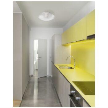 Nova Luce SENS mennyezeti lámpa, átlátszó, E27 foglalattal, max. 1x60W, 838123