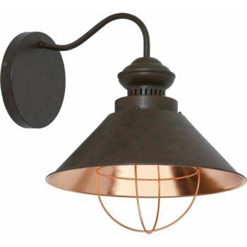 Nowodvorski LOFT fali lámpa, grafit, E27 foglalattal, 1x42W, TL-5058