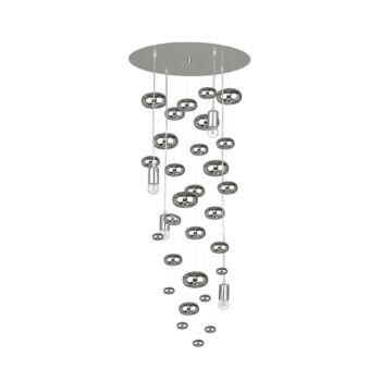 Nowodvorski SALVA H több ágú függeszték, ezüst, E27 foglalattal, 4x60W, TL-6846