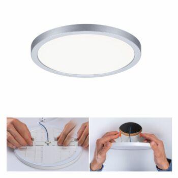 Paulmann 930.38 Areo Varifit LED panel, kerek, matt króm, 4000K természetes fehér, 1800 lm, IP44
