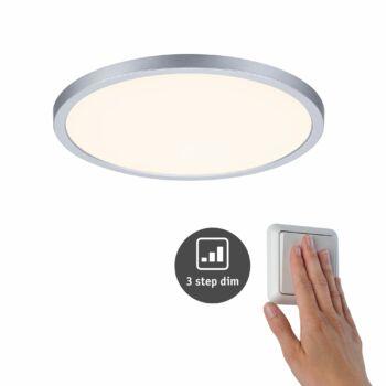 Paulmann 930.52 Areo Varifit LED panel, 3-step-dimming, króm, 3000K melegfehér, beépített LED, 2200 lm, IP44