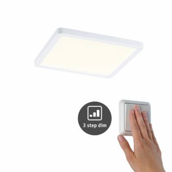 Paulmann 930.53 Areo Varifit LED panel, 3-step-dimming, fehér, 3000K melegfehér, beépített LED, 1800 lm, IP44