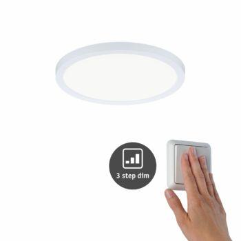 Paulmann 930.55 Areo Varifit LED panel, 3-step-dimming, fehér, 4000K természetes fehér, beépített LED, 1800 lm, IP44