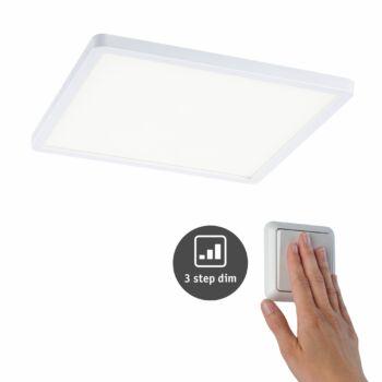 Paulmann 930.60 Areo Varifit LED panel, 3-step-dimming, fehér, 4000K természetes fehér, beépített LED, 2200 lm, IP44