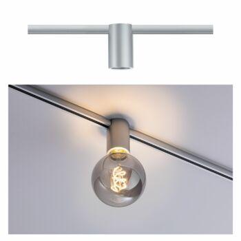 Paulmann 949.73 URail sínes lámpa, E27 foglalattal, max. 20W, 230V, matt króm, fényerőszabályozható