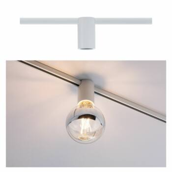 Paulmann 949.74 URail sínes lámpa, E27 foglalattal, max. 20W, 230V, fehér, fényerőszabályozható