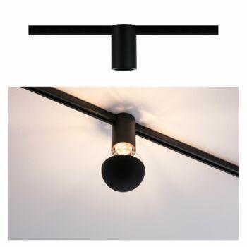 Paulmann 949.75 URail sínes lámpa, E27 foglalattal, max. 20W, 230V, fekete, fényerőszabályozható