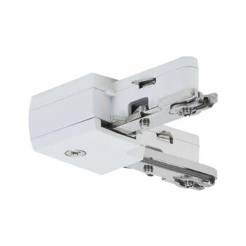 """Paulmann 976.49 URail """"L"""" alakú áramvezető összekötő elem, fehér"""