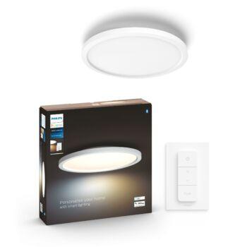 Philips Hue Aurelle 40cm LED kör panel, White Ambiance, fehér, 24,5W, 2200 lm, 2200-6500K, Bluetooth+Zigbee, 3216431P6