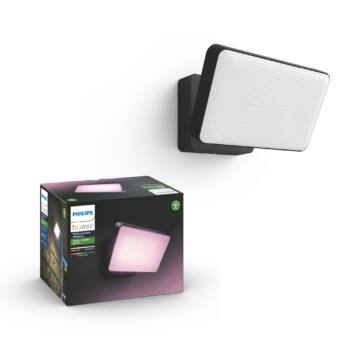 Philips Hue Discover RGBW LED reflektor, IP44, 2300lm, 15W, fekete, White and Color Ambiance, 1743530P7