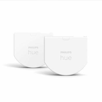 Philips Hue kapcsoló mögé építhető modul, 2db-os csomag, elemes, fehér, Zigbee, 8719514318021