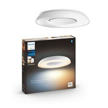 Philips Hue Still LED mennyezeti lámpa, White and Color Ambiance, fehér, 27W, 2400 lm, 2200K-6500K + DimSwitch, Bluetooth+Zigbee, 3261331P6