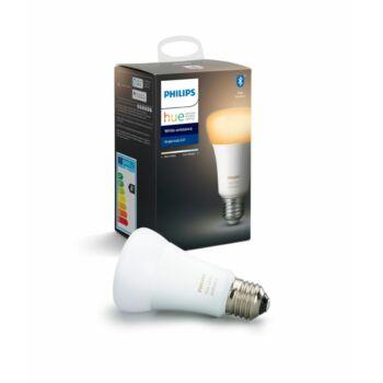 Philips Hue White Ambiance E27 LED fényforrás, 2200-6500K, 8,5W, 806 lm, Bluetooth+Zigbee, 8718699673147