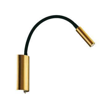Viokef MATRIX fali lámpa, arany, beépített LED, 277 lm, VIO-4218100