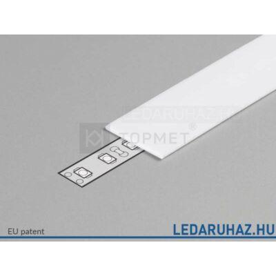 Topmet LED profil előlap E opál - A2040038 - 2m