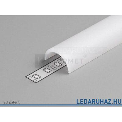 Topmet LED profil félkör előlap D opál - A1140038 - 2m