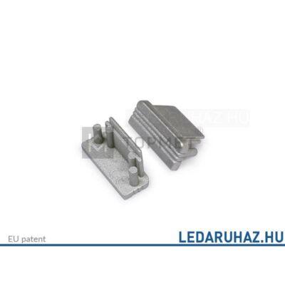Topmet Surface10 LED profil ezüst végzáró - 77280040