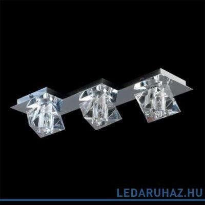 LUXERA BAIKO mennyezeti lámpa 3 foglalattal, króm, G9, 69016