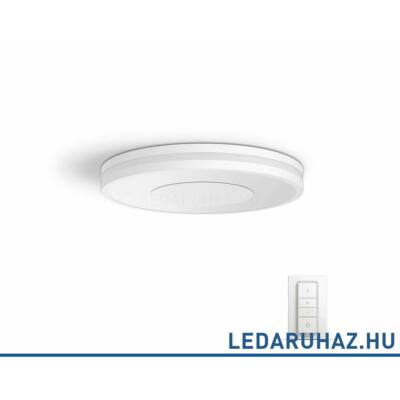 Philips Hue Being mennyezeti LED lámpa, fehér, 32W, 2400 lm@4000K, 2200K-6500K + DimSwitch, 32610/31/P7