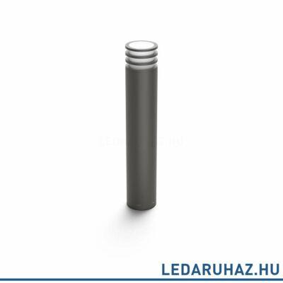 Philips Hue Lucca kütltéri LED állólámpa, antracit, 9.5W, 230V, IP44, 2700K melegfehér fényforrással, 1740393P0