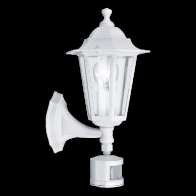EGLO 22464 LATERNA 5 kültéri fali lámpa, mozgásérzékelővel, fehér