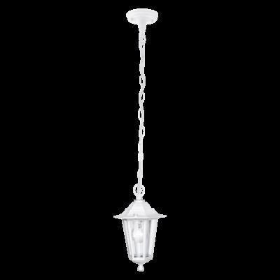 EGLO 22465 LATERNA 5 kültéri függesztett lámpa, fehér