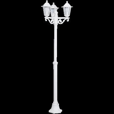 EGLO 22996 LATERNA 5 kültéri állólámpa, fehér + ajándék LED fényforrás