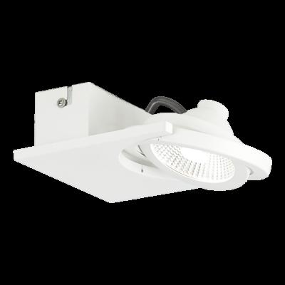 EGLO 39133 BREA mennyezeti LED lámpa, 14cm hosszú, fehér, beépített LED, 1x5W, 3000K melegfehér, 480lm
