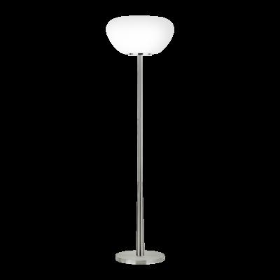EGLO 39169 BALMES függesztett lámpa, 152cm magas, nikkel/opál, 1 db. E27 foglalattal, max. 1x60W + ajándék LED fényforrás