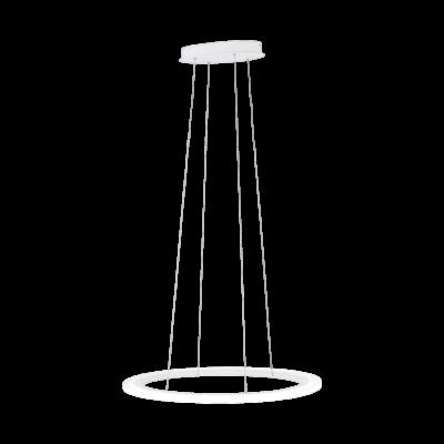 EGLO 39306 PENAFORTE függesztett LED lámpa, 75,5cm átmérő, 1 karika, fehér, beépített LED, 33,5W, 3000K melegfehér, 3700lm, fényerőszabályozható