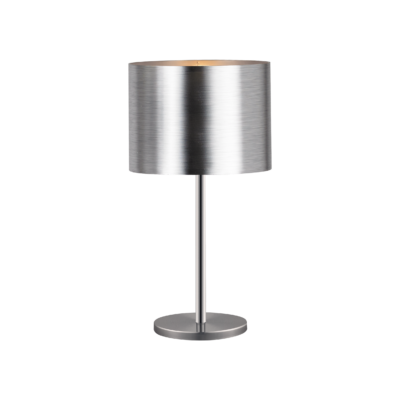 EGLO 39392 SAGANTO asztali lámpa, 66cm magas, matt nikkel/ezüst, 1 db. E27 foglalattal, 1x60W