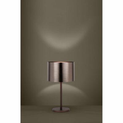 EGLO 39394 SAGANTO 1 asztali lámpa, 35cm átmérő, barna/réz, 1 db. E27 foglalattal, 1x60W