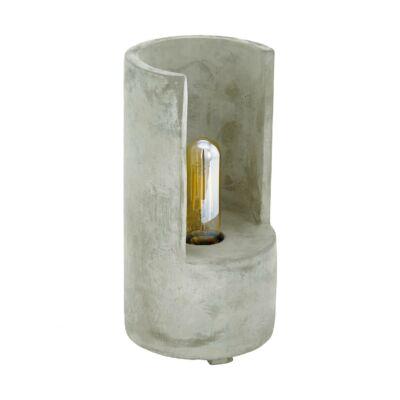 EGLO 49111 LYNTON Beton asztali lámpa, E27 foglalattal, 27cm magas, max. 1x60W + ajándék LED fényforrás