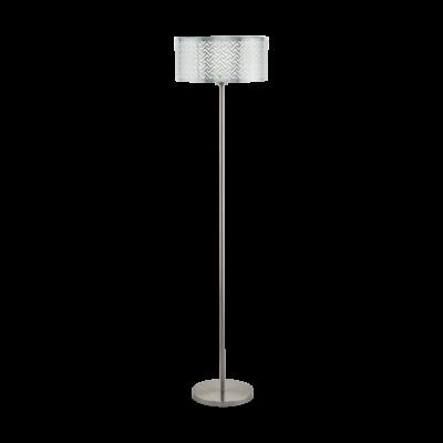 EGLO 49168 LEAMINGTON 1 Króm állólámpa, E27 foglalattal, 151cm magas, 1x60W + ajándék Access távirányítós(11807) LED fényforrás