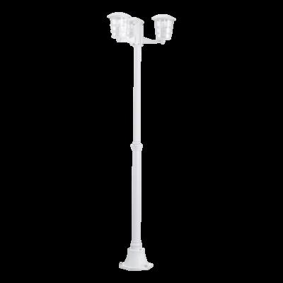 EGLO 93405 ALORIA kültéri állólámpa, fehér + ajándék LED fényforrás