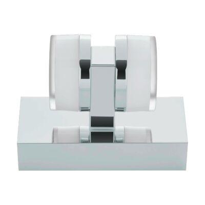 EGLO 94651 ROMENDO Króm LED fali lámpa, 15,5x7x12cm, 2x4,5W, 3000K melegfehér, 960lm, IP43