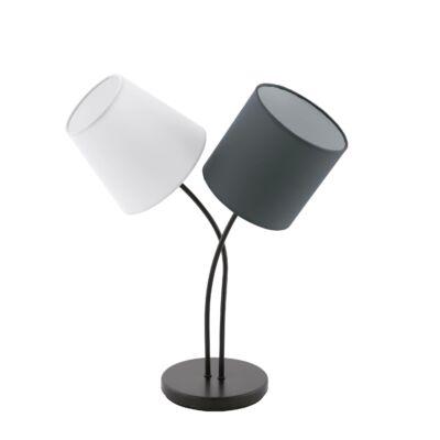 EGLO 95194 ALMEIDA Textil asztali lámpa, többszínű, 38x47,5cm, 2 db E14 foglalattal