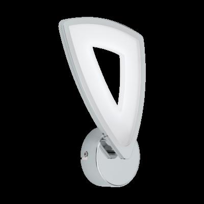 EGLO 95222 AMONDE Design LED fali lámpa, 28,5cm, króm/fehér, 6W, 3000K melegfehér, 730lm