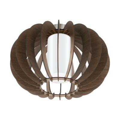 EGLO 95589 STELLATO 3 Fa mennyezeti lámpa, 40cm, sötétbarna, E27 foglalattal + ajándék LED fényforrás