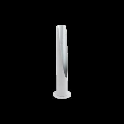 EGLO 97581 BARBOTTO Fehér/ezüst asztali LED lámpa, GU10 foglalattal, 39,5cm magas, 5W, 3000K melegfehér, 400lm