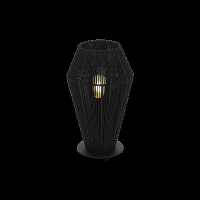 EGLO 97796 PALMONES fekete, asztali lámpa, E27 foglalattal, 35,5cm magas, max. 1x60W + ajándék LED fényforrás