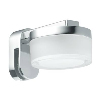 EGLO 97842 ROMENDO Króm LED fali lámpa, 10,5x6cm, 4,5W, 3000K, 480lm, IP43