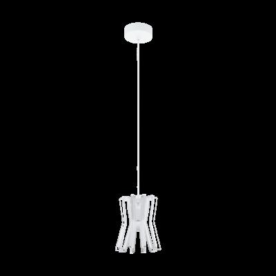 EGLO 97977 LOCUBIN Fehér függesztett lámpa, E27 foglalattal, 20cm átmérő, max. 1x40W + ajándék LED fényforrás