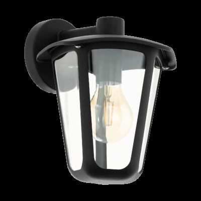 EGLO 98121 MONREALE kültéri fali lámpa, fekete