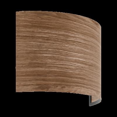 EGLO 98549 CANNAFESCA Fa fali lámpa, 19x31x11cm, barna, E14 foglalattal
