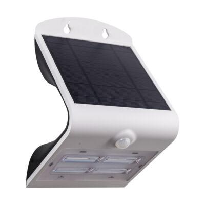 Eglo 98757 LAMOZZO kültéri szolár LED fali lámpa, mozgásérzékelővel, IP44, 3,2W, 440lm, 4000K természetes fehér, fehér, 21cm