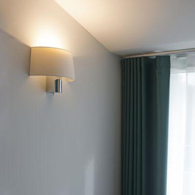 FARO Hotel fali lámpa, fehér, E27, 29940
