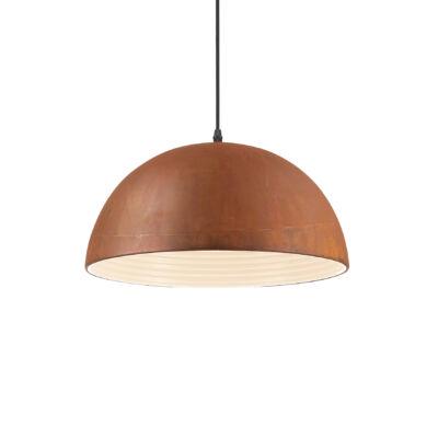 IDEAL LUX FOLK függesztett lámpa E27 foglalattal, max. 60W, 40 cm átmérő, rozsda 174211